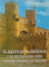 Portada del folleto El Castillo de Sigüenza y su restauración, 1978